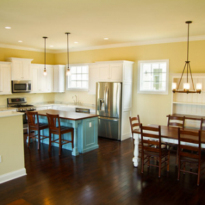 """Open Kitchen and Dining Space • <a style=""""font-size:0.8em;"""" href=""""http://www.flickr.com/photos/76269113@N03/9916712263/"""" target=""""_blank"""">View on Flickr</a>"""